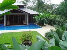 tropical backyard design ideas small plunge pools design ideas