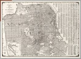 San Francisco City Map by City And County Of San Francisco David Rumsey Historical Map