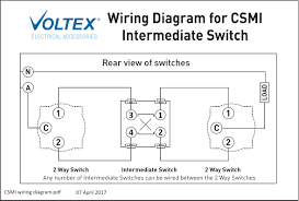 intermediate switch mechanism switch mechanisms outlets