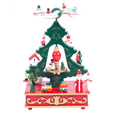 cartoon christmas tree music box for children best christmas gifts