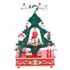 cartoon christmas tree music box for children best christmas gifts