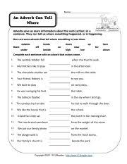 middle parts of speech worksheets free worksheets library