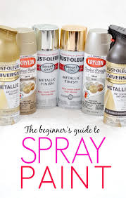 everything you need to know about spray paint all in one place