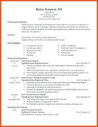 nicu resume operating room resume sle unforgettable operating room