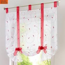 Cafe Kitchen Curtains Aliexpress Com Buy New Arrival Window Curtain Rome Cafe Kitchen