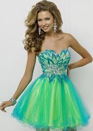 blue and green short bridesmaid dresses naf dresses