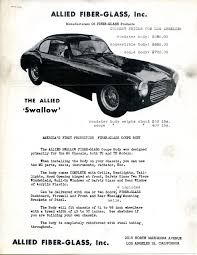 Classic Muscle Car Dealers Los Angeles The Atlas Allied Fiber Glass Company America U0027s First Production