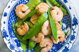 thanksgiving peas shrimp with snow peas recipe simplyrecipes com