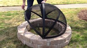 how to make a fire pit screen in your backyard design ideas