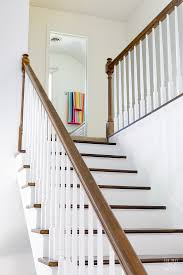 Oak Banister Makeover Painting Staircase Balusters Without Losing Your Mind In My Own