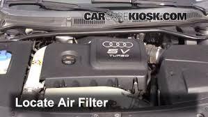 audi 1 8 l turbo air filter how to 2000 2006 audi tt quattro 2004 audi tt