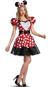 Mickey Mouse Halloween Costume Adults Minnie Mouse Costume Minnie Mouse Costume Disney