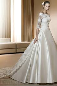 wedding gowns uk buy cheap shoulder satin and lace a line chapel inspires