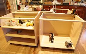 building a kitchen island with cabinets ikea hack how we built our kitchen island jeanne oliver