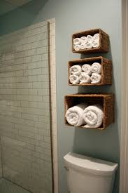 inspiring do it yourself towel storage ideas bathroom