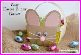 easter bunny baskets easter bunny basket creatively