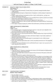 director of operations resume director regional operations resume sles velvet