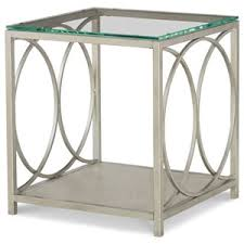 Powell Black Glass Top Side All Accent Tables Fredericksburg Richmond Charlottesville