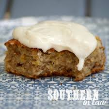 southern in law recipe banana oatmeal snack cake with healthy