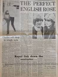 our second princess diana article today is from the engagement