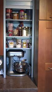 kitchen stand alone tall white corner kitchen pantry with double