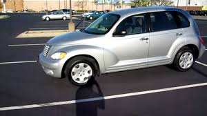 2005 chrylser pt cruiser silver clean runs excellent for sale