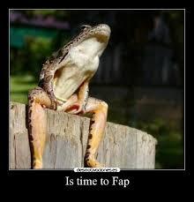 is time to fap desmotivaciones