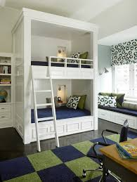 cool loft beds kids rustic with timber frame themed wall murals