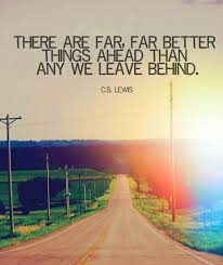 c s lewis better things ahead quote