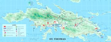 map st croix st croix map us islands where is location world