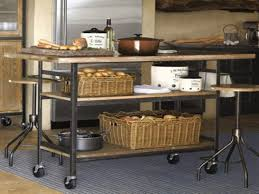 Kitchen Island With Stainless Steel Top Kitchen Rolling Island Unique Free Plans Small For Bench On Wheels