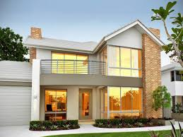 Home Plans With Photos Of Interior by Exterior House Design One Floor