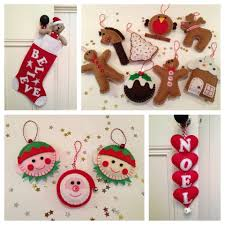 felt christmas decorations christmas pinterest fabric paint
