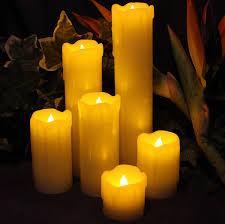halloween led candles amazon com sale led lytes timer flameless candles slim set of