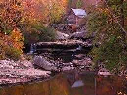 places fall foliage scenes wv