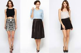 which skirt do i buy for my body shape