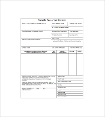 sample proforma invoice invoice proforma free printable invoice