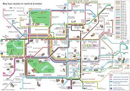 printable map key download printable map of central london major tourist attractions