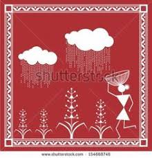 Warli Art Simple Designs Tribal Painting Paintings By Artist From Saura Tribe Southern