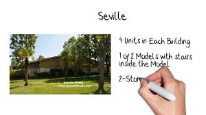 seville model in laguna woods floor plan youtube