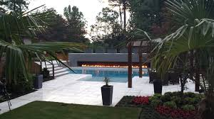 using and decorating garden walls landscape design fire water a