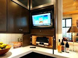 kitchen televisions under cabinet kitchen tv under cabinet mounts on guide cheesephotography