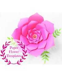 wedding backdrop template new savings on diy wedding paper flowers flower templates svg cut