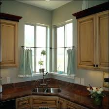 Curtains Corner Windows Ideas Corner Window Curtain Ideas Electricnest Info