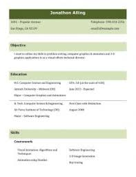 Good College Resume Examples by Free Resume Templates 87 Marvellous Job Samples Internal Samples