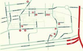 Pretoria South Africa Map by The Antique Route In Pretoria South Africa