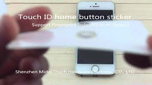 Iphone Home Button Decoration Touch Id Home Button Sticker For Iphone6 Iphone6 Plus Iphone5s