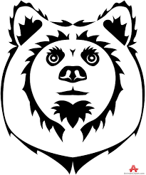 tribal bear tattoo design free clipart design download