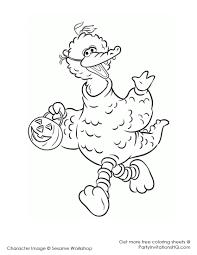 big bird sesame street clipart 42