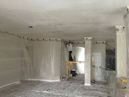 Removing Cottage Cheese Ceiling by Popcorn Ceiling Removal Paint Squad Homes Orlando